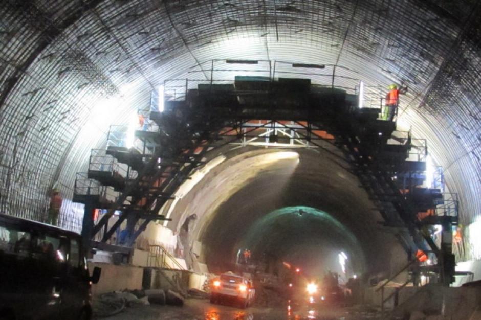 Tunelu w ciągu Zakopianki gotowy do końca roku? Jest szansa