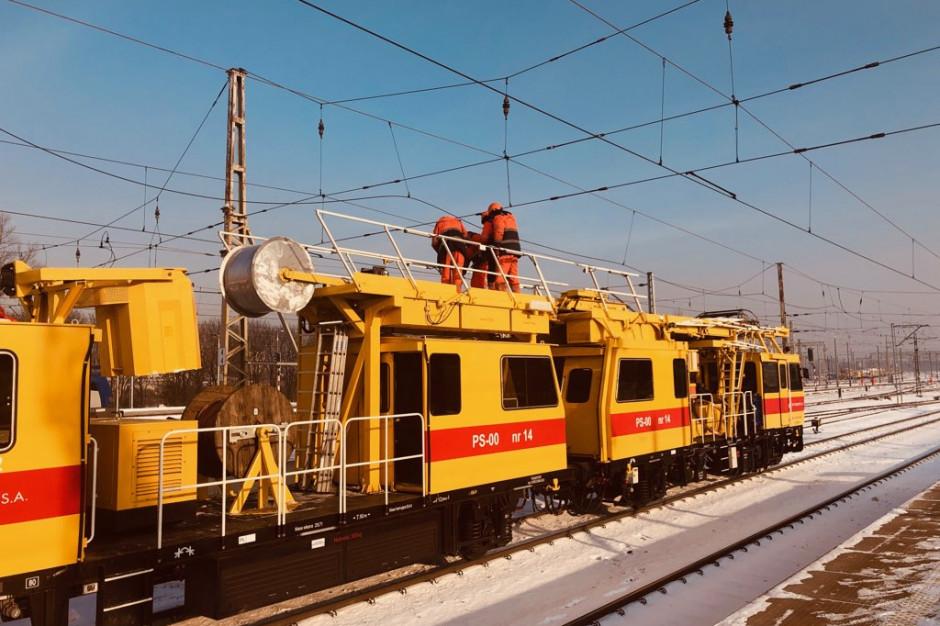 PKP PLK: sieć kolejowa przejezdna poza fragmentem linii Poznań - Warszawa