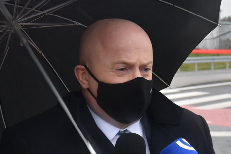 Zakażony koronawirusem marszałek Jarosław Stawiarski w szpitalu