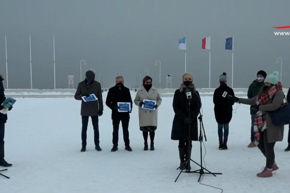 Nadmorscy włodarze: Chcemy takiego samego wsparcia jak gminy na południu Polski