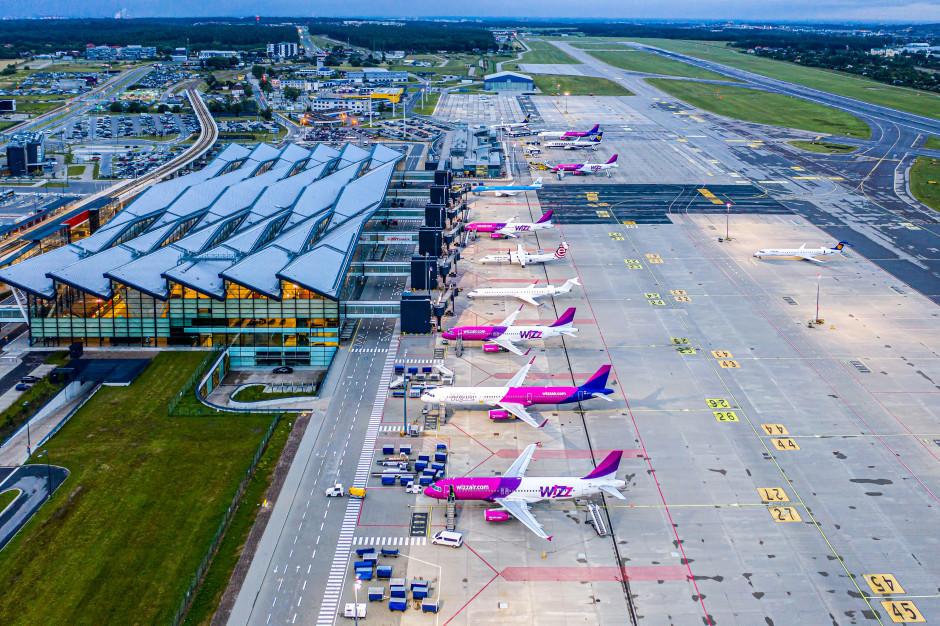 Lotnisko w Gdańsku obsłużyło o ponad 68 proc. mniej pasażerów