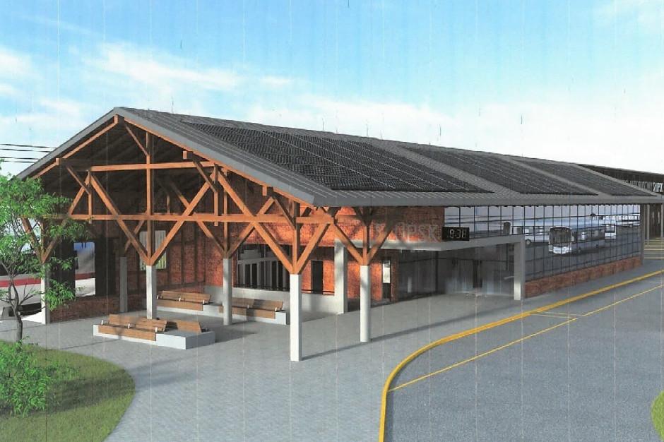 Nowoczesny w historycznej formie - taki będzie nowy dworzec autobusowy w Słupsku