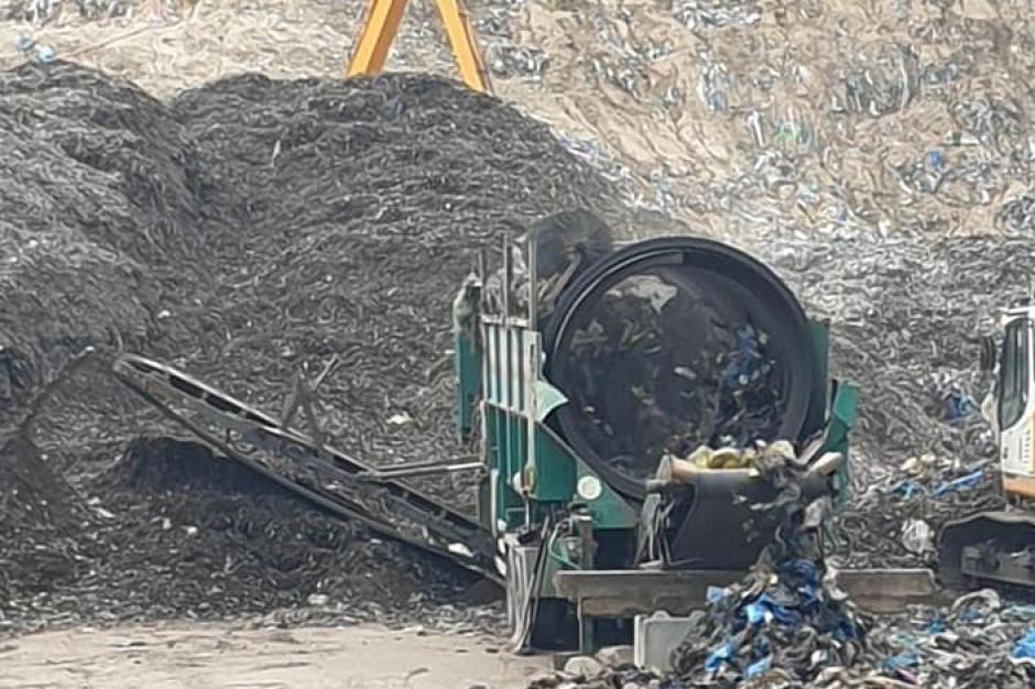 Sortownia w Studziankach nie może już przyjmować nowych śmieci