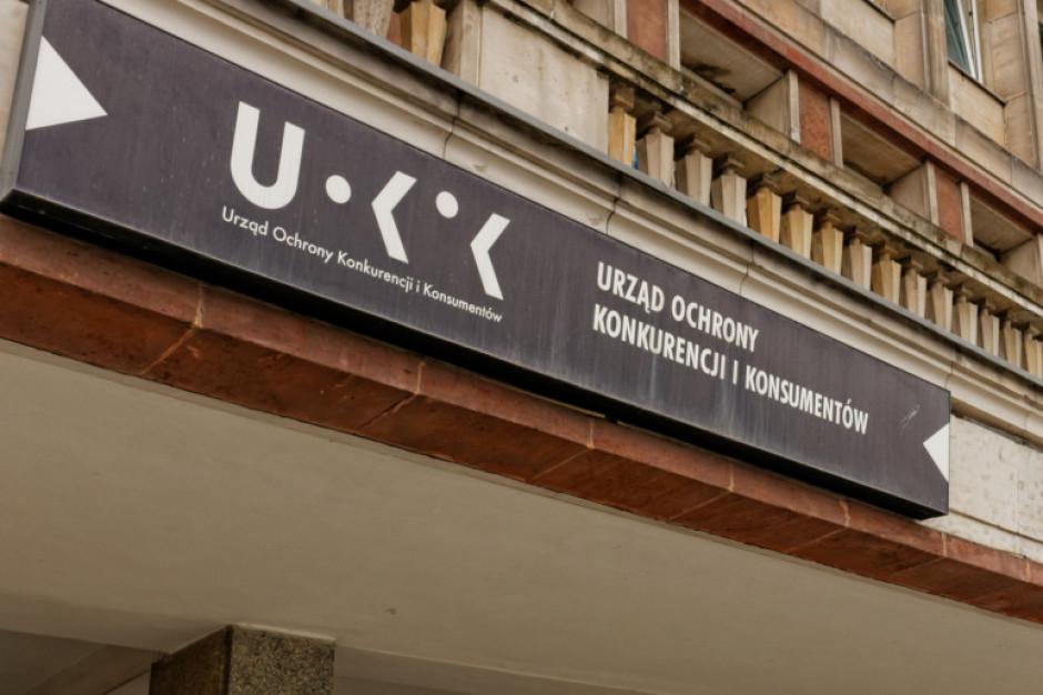 UOKiK: prawie 375 tys. zł kary dla dwóch uczestników zmowy przetargowej