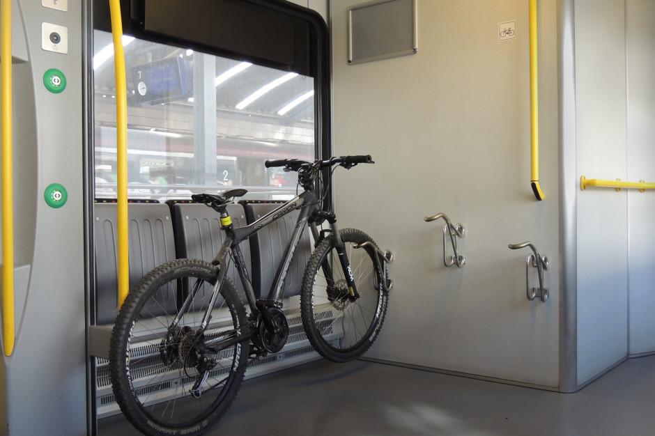 Łatwiej będzie można przewozić rowery w pociągach