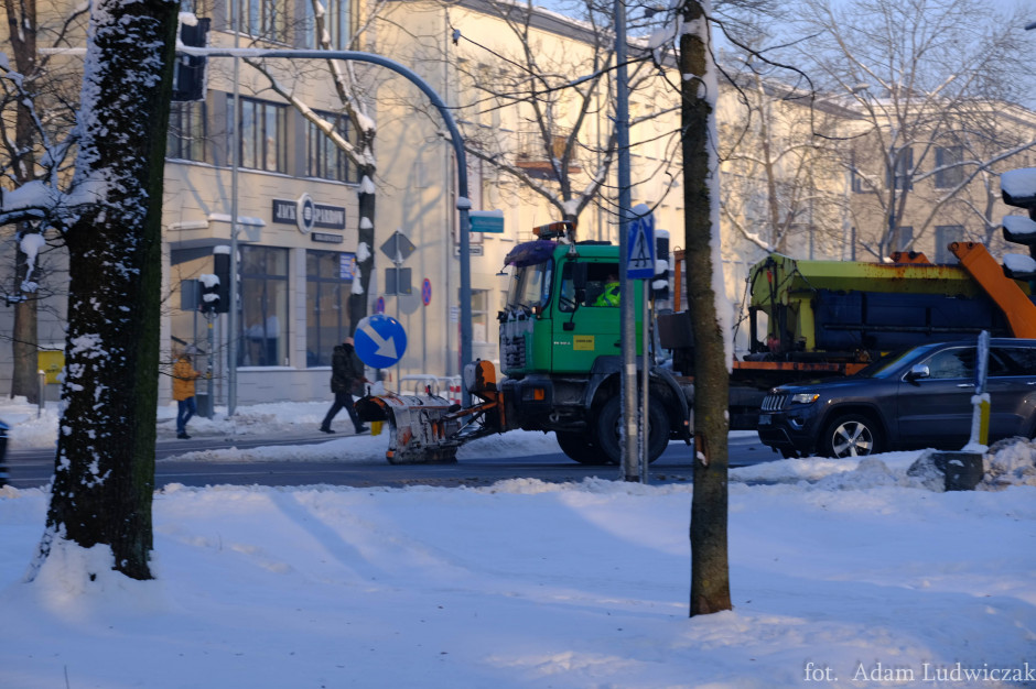 Miasto niezadowolone z odśnieżania dróg. Wysokie kary