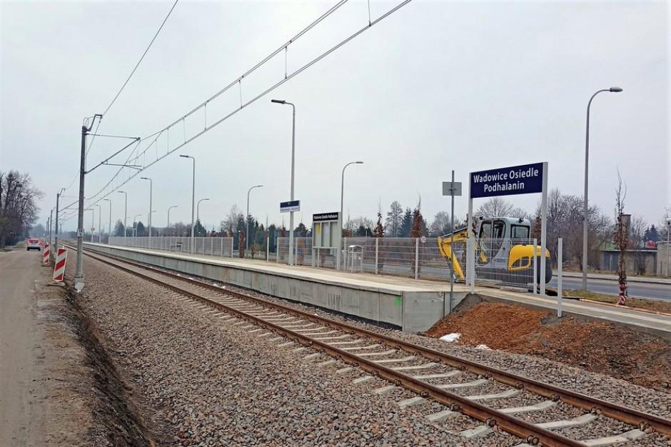 Nowy przystanek kolejowy w Wadowicach już czynny
