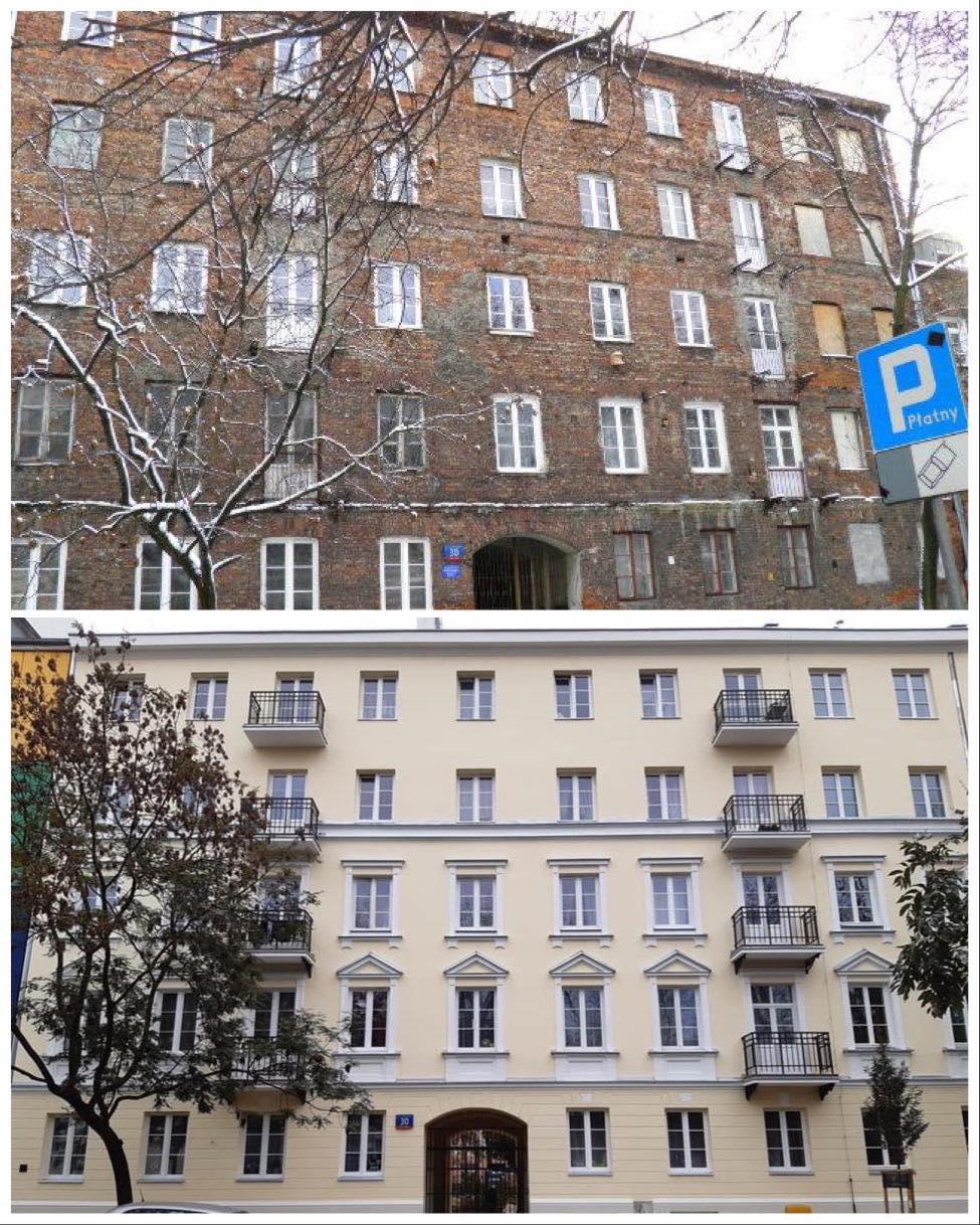 ul. Kłopotowskiego 30 - Praga Północ (źródło: UM Warszawa)