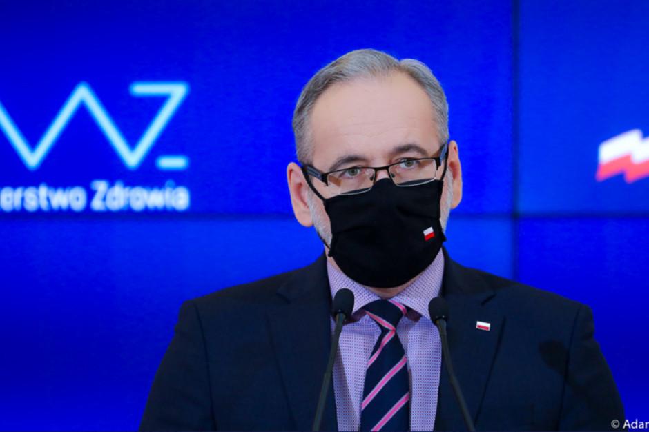 Minister zdrowia: jeśli chodzi o obłożenie łóżek - najgorsze przed nami
