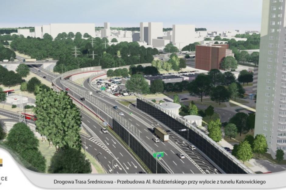 Katowice przebudują arterię w centrum miasta