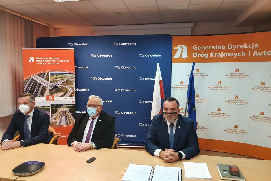 Podlaskie: Podpisano umowę na projekt i budowę odcinka Ploski-Haćki S19