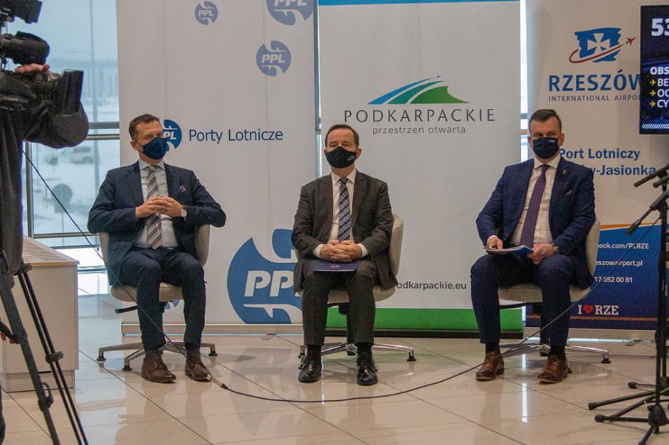 Lotnisko w Jasionce przeznaczy  53 mln zł na inwestycje