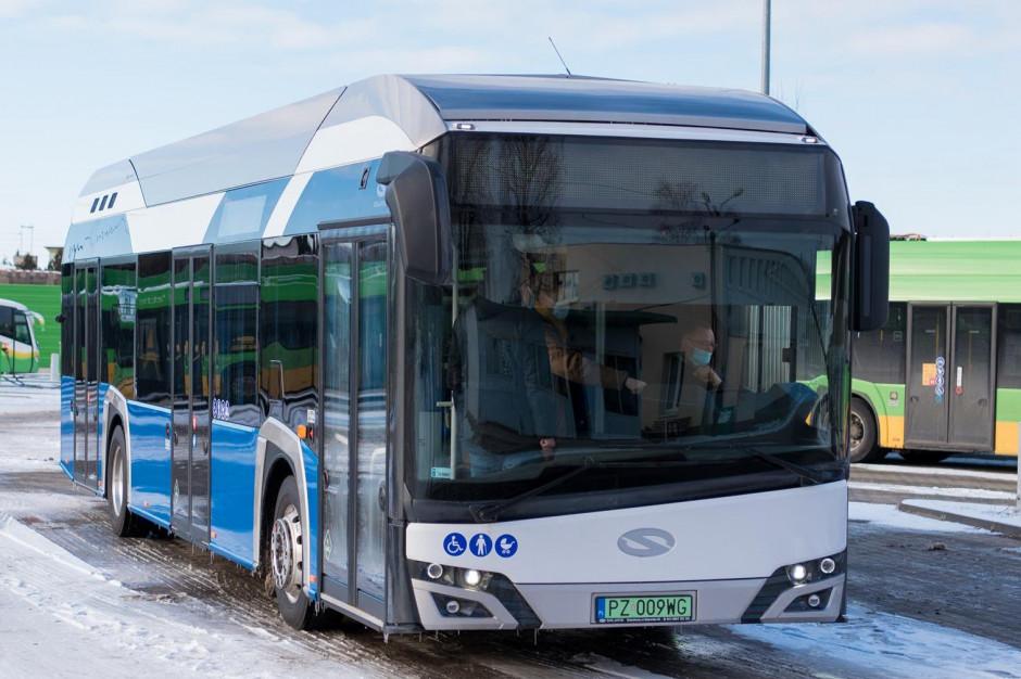Poznań chce postawić na autobusy wodorowe. W planach aż 84 pojazdy