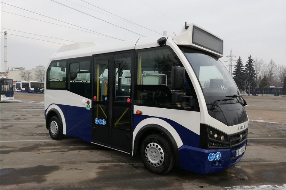 Kraków kupił mini autobusy