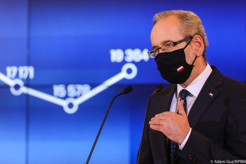 Niedzielski:  Można powiedzieć, że pandemia jest pod kontrolą