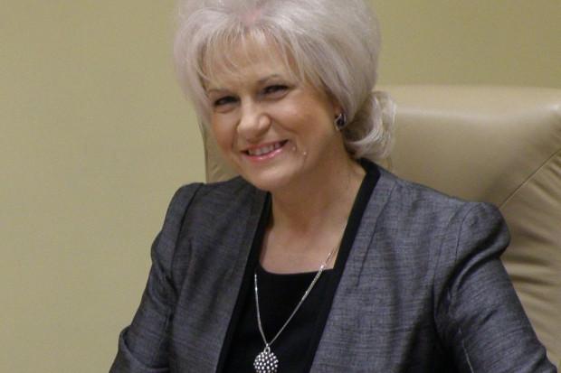 Krystyna Wróbel, burmistrz Lędzin (fot. ledziny.pl)