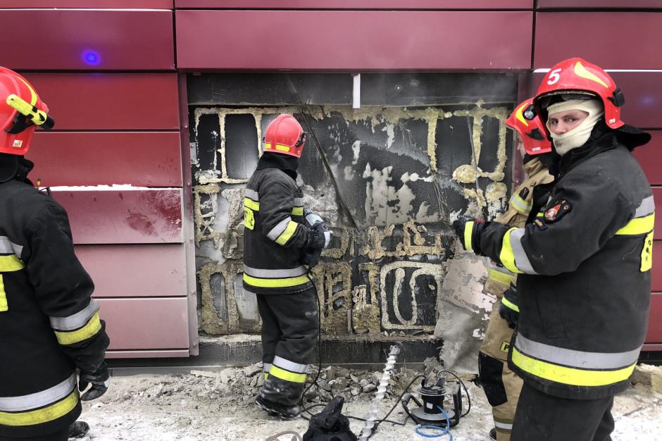 Pożar w archiwum Urzędu Miasta Krakowa – opanowany