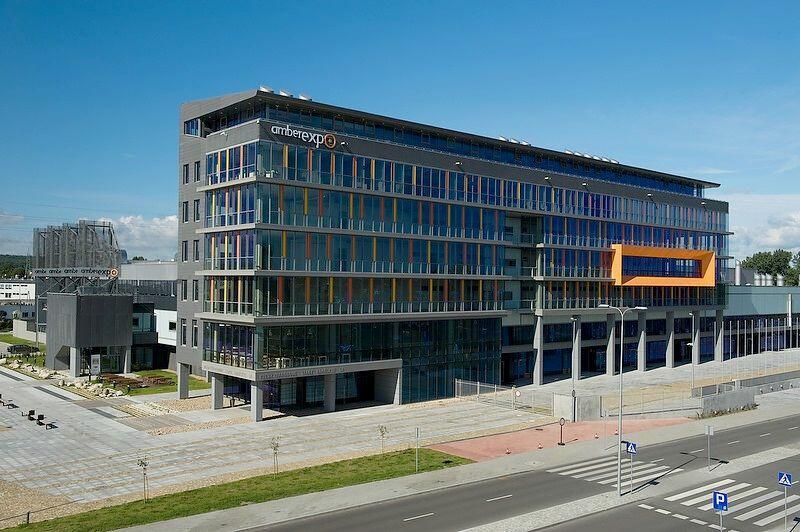 Nowoczesny obiekt Amber Expo to miejsce licznych imprez targowych (fot. mat. pras. Amber Expo)