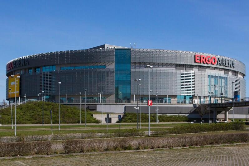 Ergo Arena od ponad 10 lat funkcjonuje na granicy Gdańska i Sopotu (fot. Jerzy Pinkas/www.gdansk.pl)