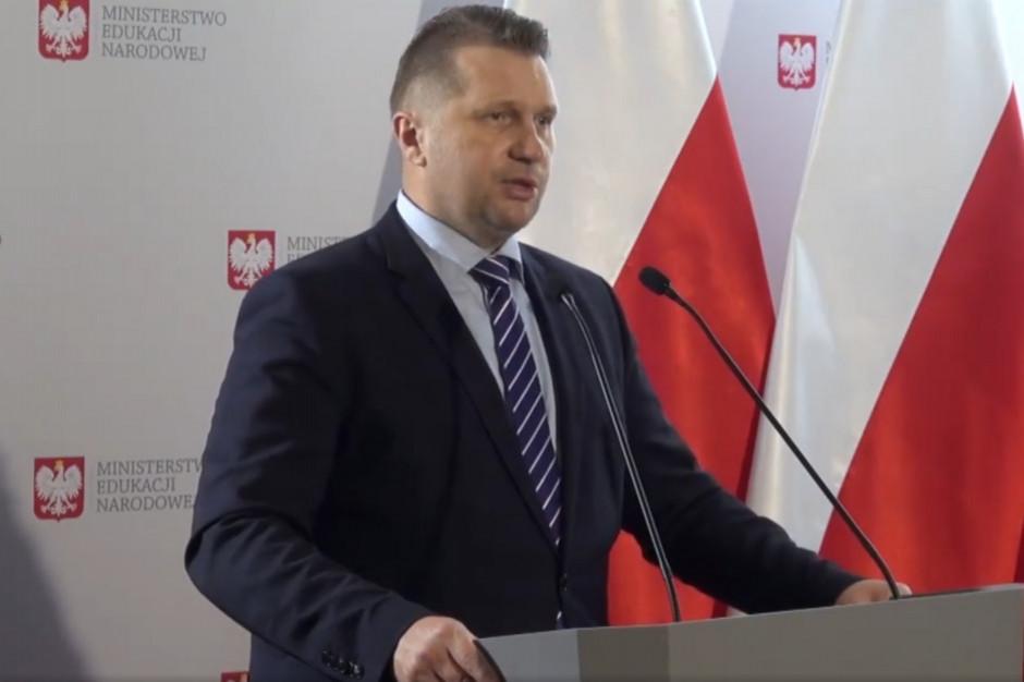 Przemysław Czarnek: dziękuję nauczycielom za świadectwo odpowiedzialności