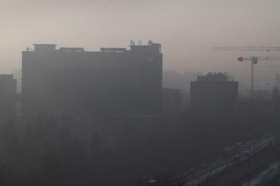 Zła jakość powietrza w wielu miastach kraju