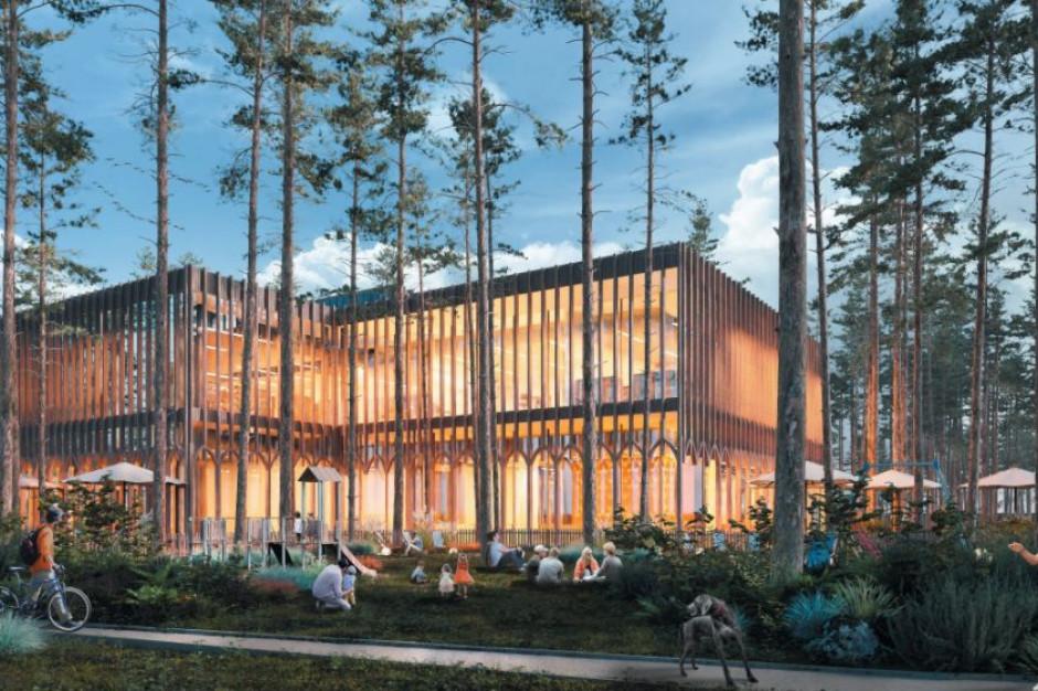 Rozstrzygnięto konkurs na koncepcję architektoniczną przedszkola i biblioteki w Józefowie