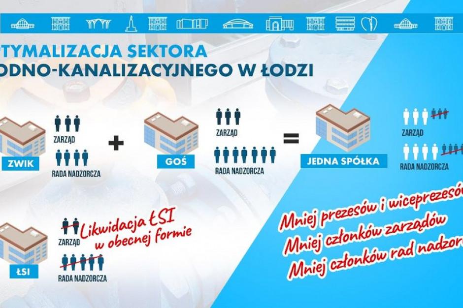 Łódź chce połączyć spółki zajmujące się gospodarką wodno-kanalizacyjną