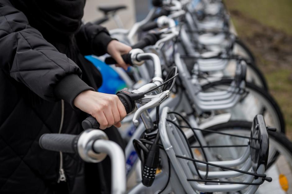 1 marca startuje Warszawski Rower Publiczny. Będą zmiany lokalizacji stacji