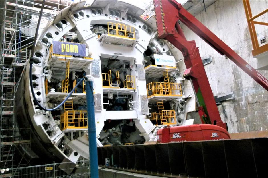 Maszyna Wyspiarka zacznie drążyć tunel pod Świną w przyszłym tygodniu