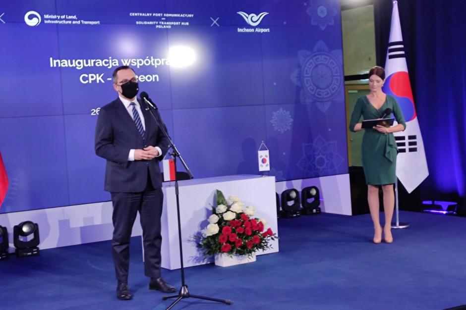 Horała: CPK będzie bramą dla Dalekiego Wschodu do UE