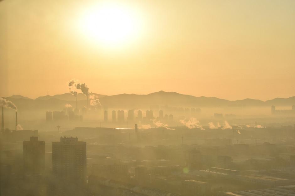 Ryzyko przekroczenia rocznej normy zanieczyszczenia powietrza na Śląsku