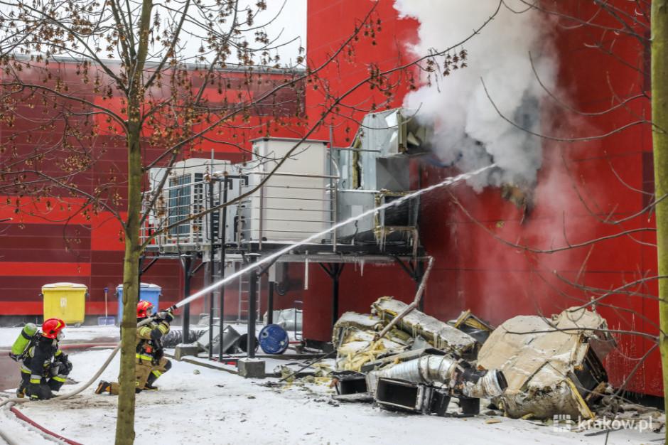 Kraków: rusza rozbiórka hal archiwum zniszczonych w pożarze