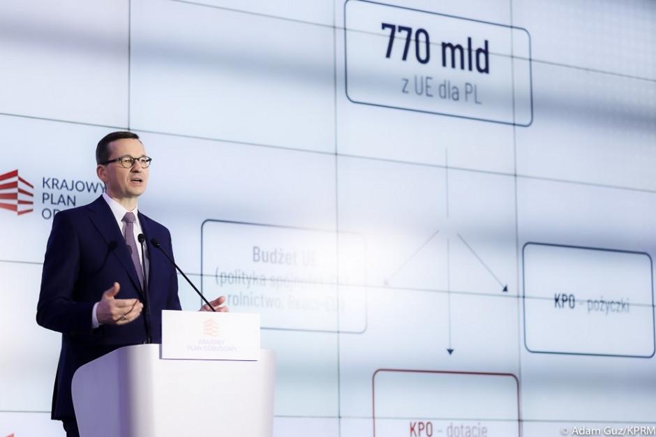 Premier: Krajowy Plan Odbudowy i Nowy Ład to strategia na walkę z kryzysem