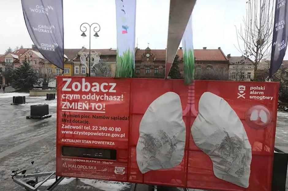 Polski Alarm Smogowy pokazał, czym oddycha się w polskich miastach