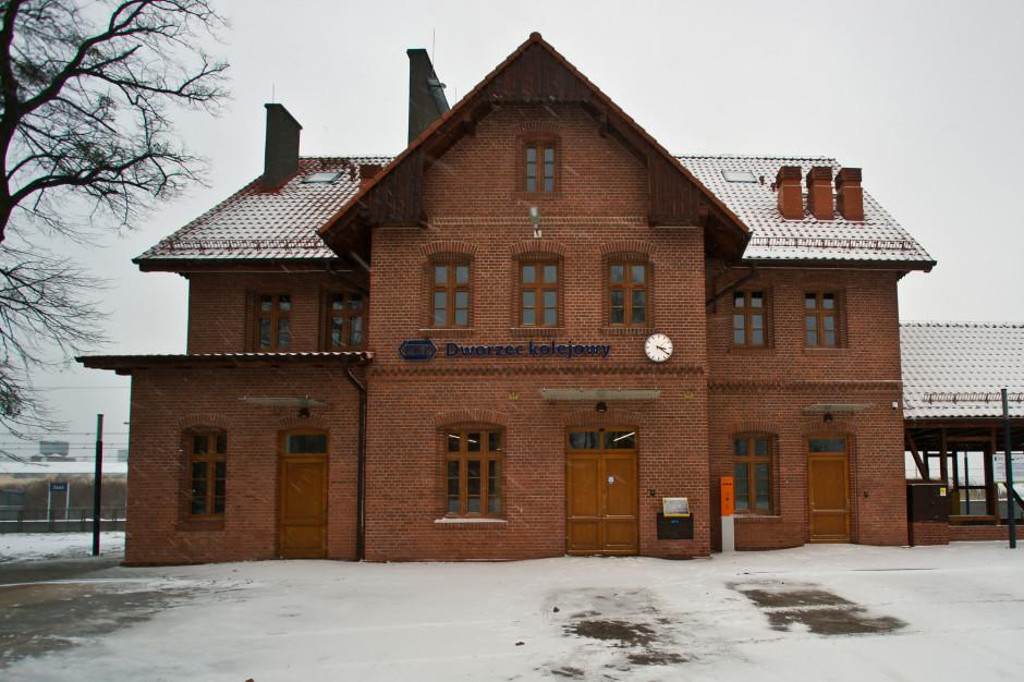Dworzec w Suszu po remoncie oddany do użytku