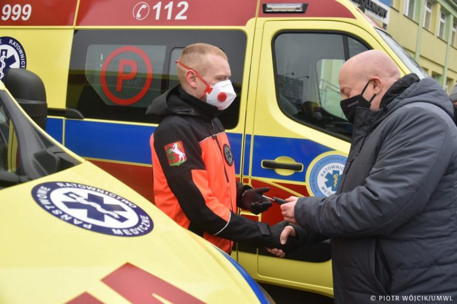 Lubelskie: Trzy nowe ambulanse dla pogotowia ratunkowego
