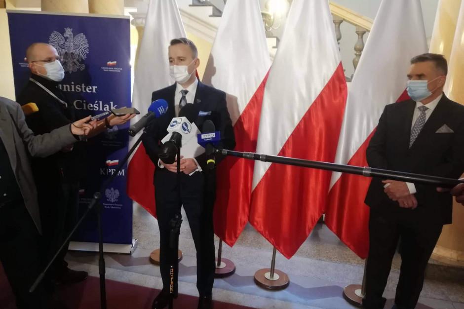 Minister Cieślak: Inwestycje w Nowym Ładzie będą realizowane głównie przez samorządy