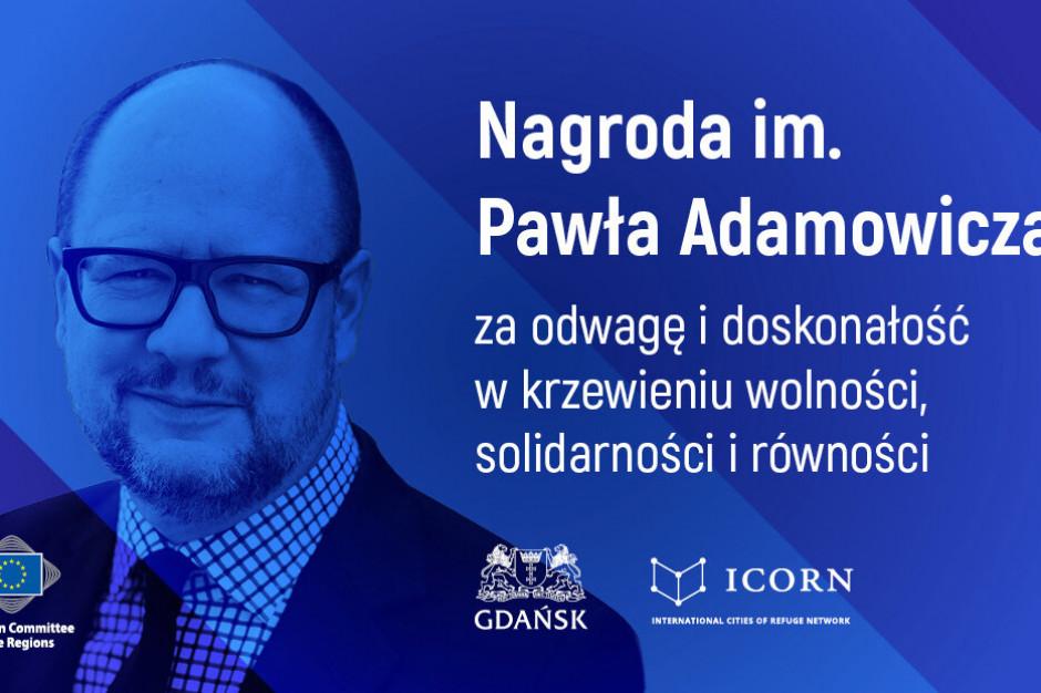 Europejski Komitet Regionów ustanowił nagrodę im. Pawła Adamowicza