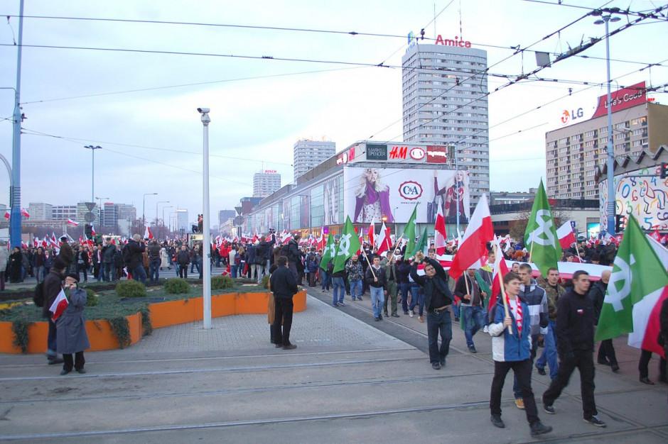 Marsz Niepodległości bez siedziby w zasobach miejskich? Ostra odpowiedź