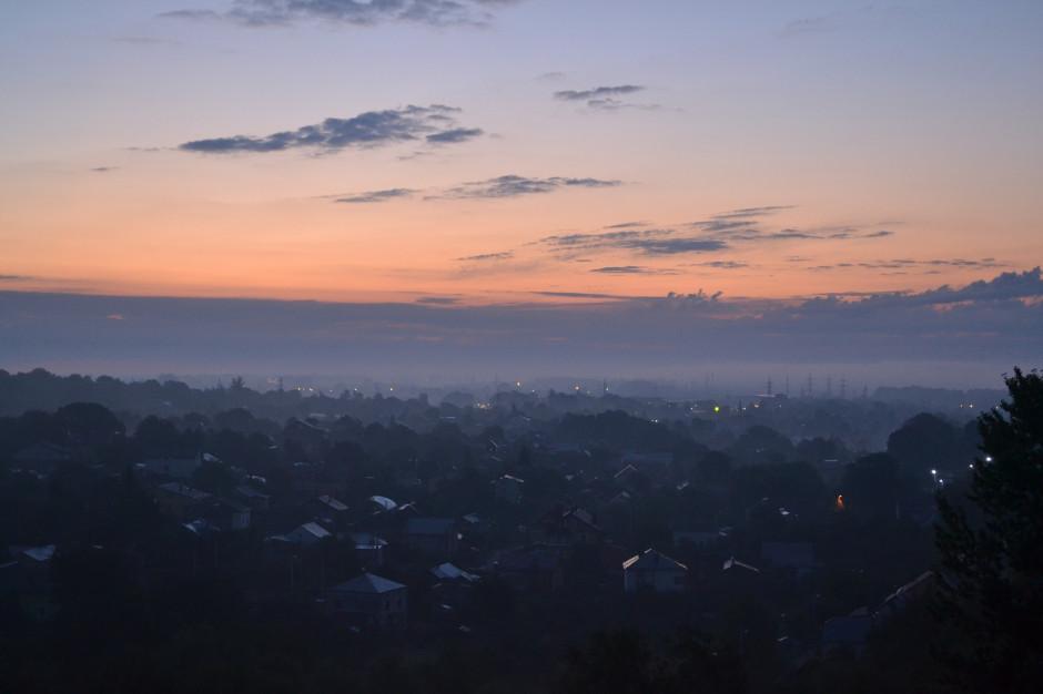 Zła jakość powietrza w znacznej części Śląska