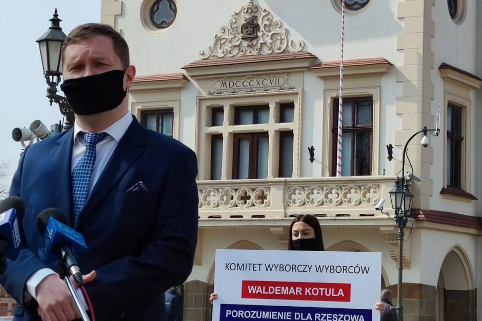 Kolejny kandydat na prezydenta Rzeszowa powołał komitet wyborczy