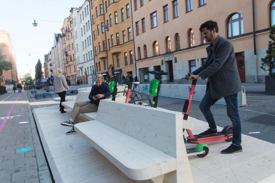 """15 to za dużo. Szwedzkie miasta mają być """"jednominutowe"""""""