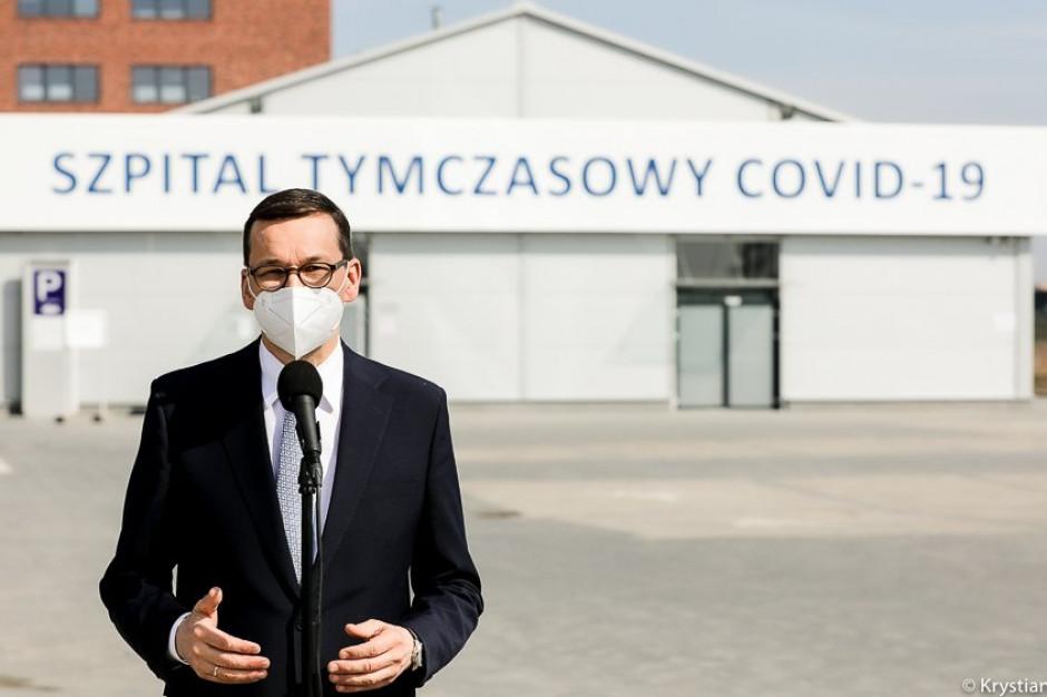 Premier: szpitale tymczasowe zostaną przekształcone w szpitale rehabilitacji pocovidowej