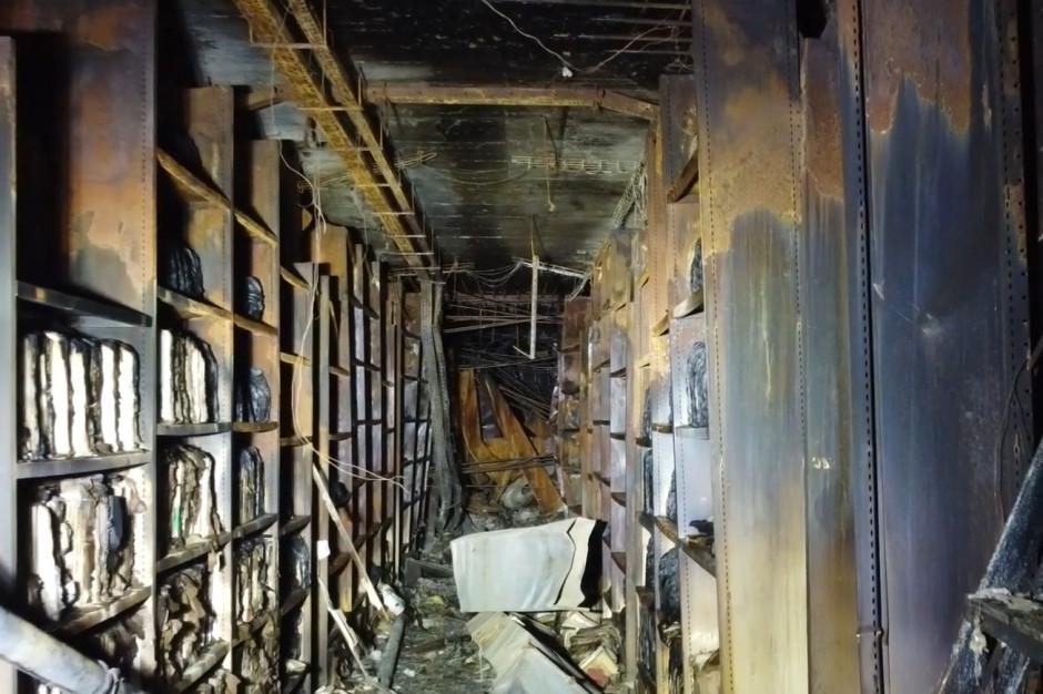 Krakowski magistrat szykuje się do rozbiórki spalonego archiwum