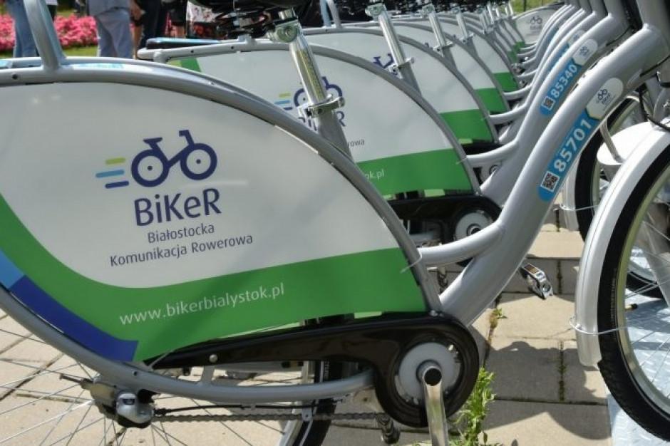 Ruszył ósmy sezon roweru miejskiego w Białymstoku