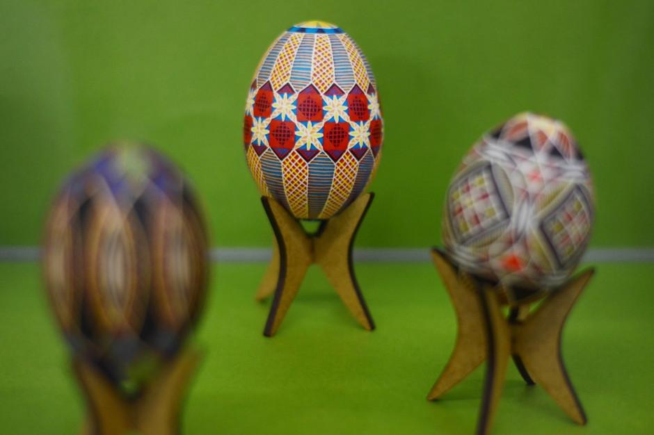 """O świątecznym jajku i wystawie """"Górnośląskie kroszonki 2012- 2021"""""""