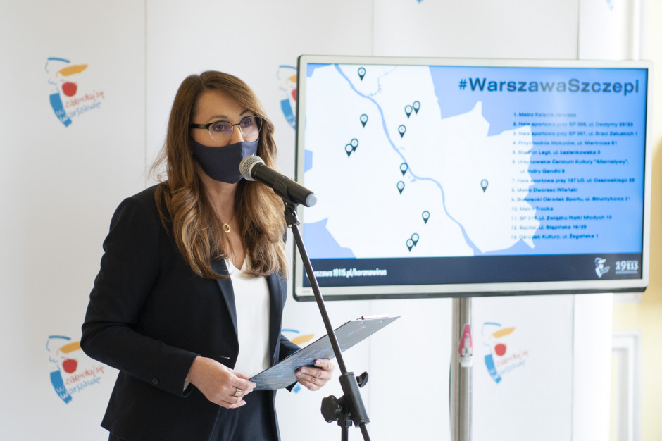 Warszawa: Rząd jednym ruchem zlikwidował punkty szczepień masowych