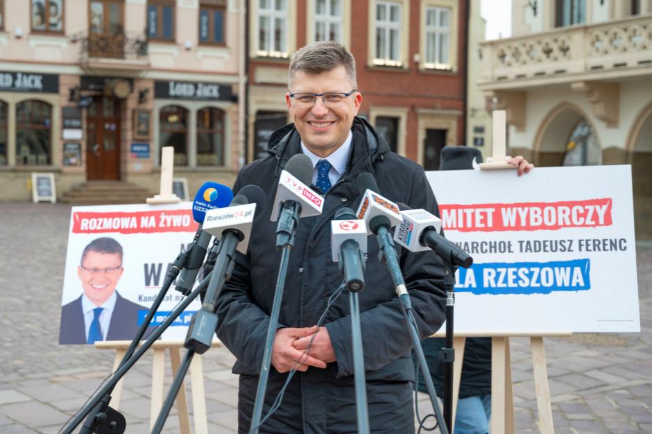 Kampania wyborcza w Rzeszowie: będą kary za brak maseczek?