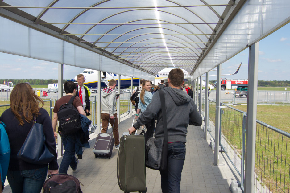 Lipiec na lotnisku w Modlinie był o 86 proc. lepszy niż czerwiec