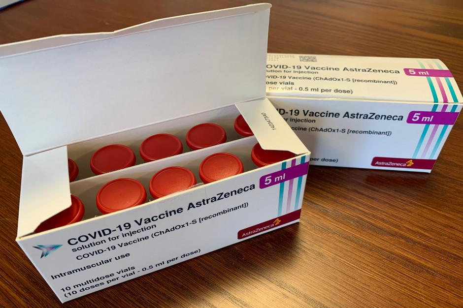 Szef urzędu rejestracji leków: Stosujemy zalecenia EMA przy szczepionce AstraZeneca